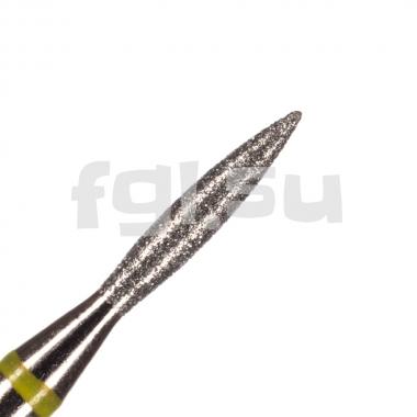 Фреза алмазная пламя D-1.6мм очень мягкая Россия(127)