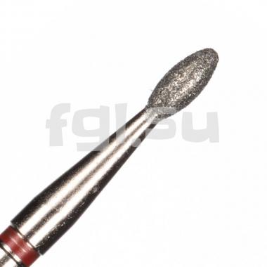Фреза алмазная почка D-1.8мм мягкая Россия(136)
