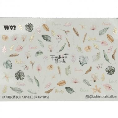 Слайдер-дизайн Fashion Nails w93