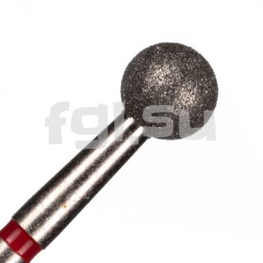 Фреза алмазная шар D-5мм мягкая Россия(165)