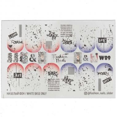 Слайдер-дизайн Fashion Nails w89